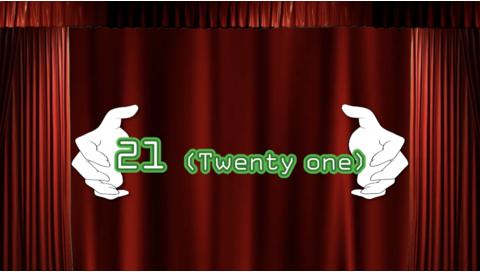 21 -Twenty one-